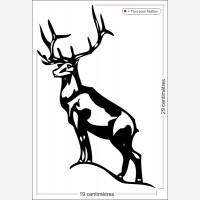 Décor animal - Le cerf