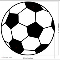 Décor sport - Le Ballon de Foot