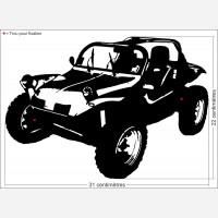 Décor Buggy (véhicule tout-terrain)