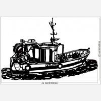 Décor bateau - Le chalutier