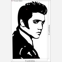 "Décors Elvis Presley ""The King"""