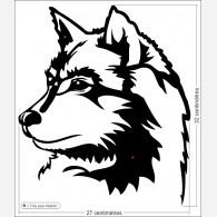 Décor chien - Le Husky sibérien