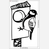 Oiseau cabane
