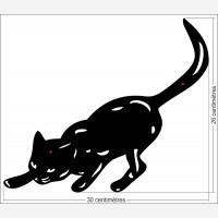 Décor animal - le Chat chasse