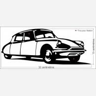 Décor voiture - La citroen Ds 19