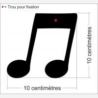 Note de music 2 Croche